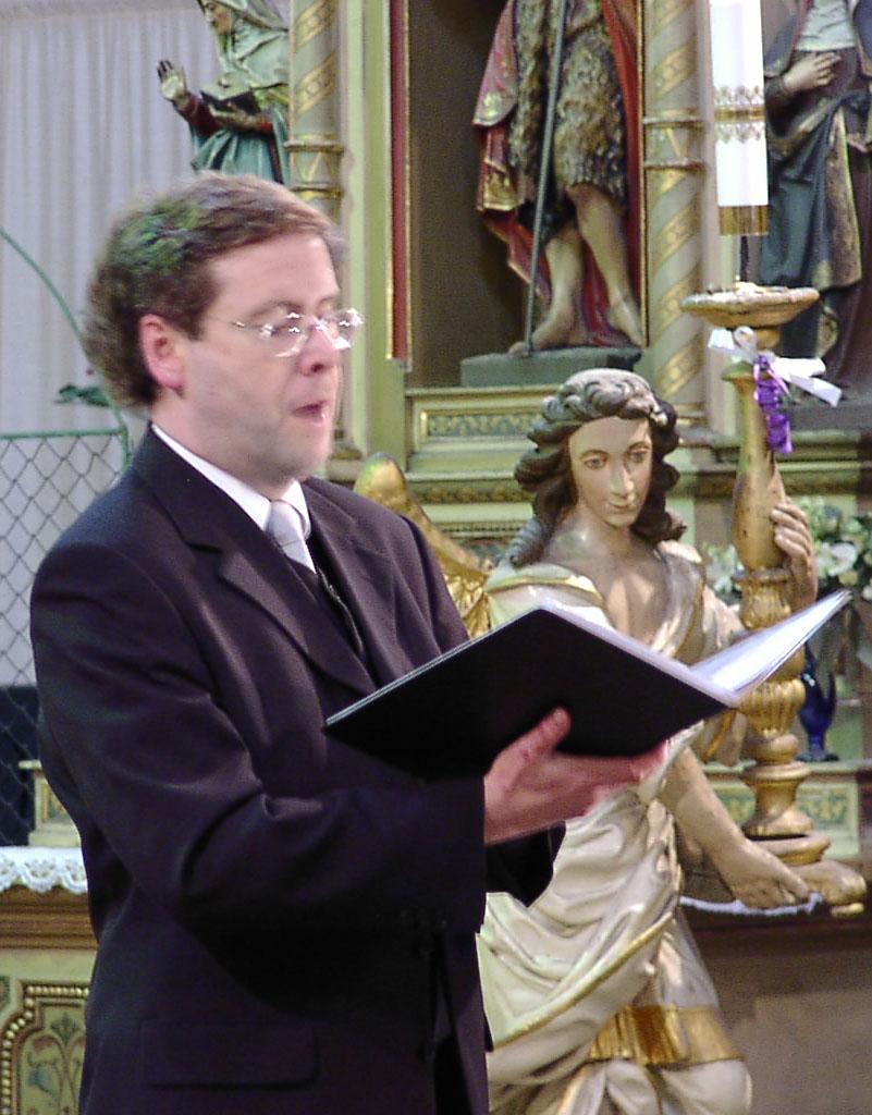 Günter Leykam bei einem Konzert