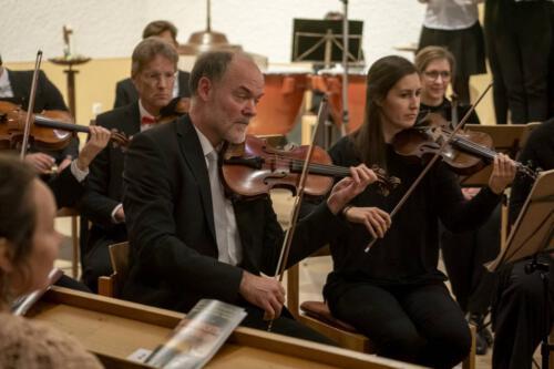 Christof Weighart, Konzertmeister